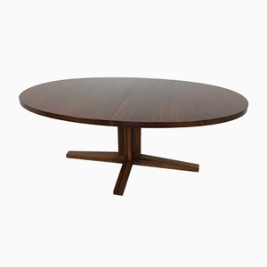 Mid-Century Rosewood Dining Table by John Mortensen for Heltborg Møbler, 1960s