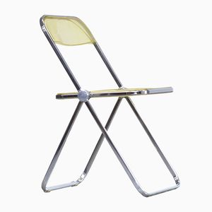 Folding Chairs by Giancarlo Piretti for Castelli, 1970s, Set of 8