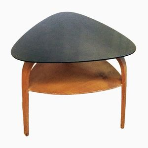 Bow Wood Coffee Table by Hugues Steiner for Steiner, 1950s