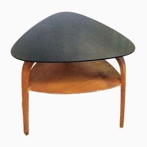 Table Basse en Forme de Pointe de Flèche en Bois par Hugues Steiner pour Steiner, 1950s