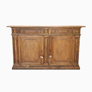 Ancient Solid Chestnut Credenza, 1850s
