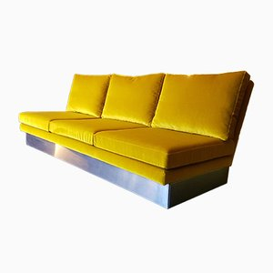 Vintage Three-Seater Sofa by Willy Rizzo