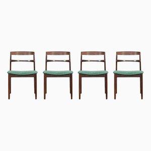 Personalisierbare Stühle aus Palisander von Henning Kjaernulf für Vejle, 4er Set