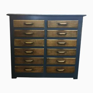 French Haberdashery Chest of Drawers, 1950s