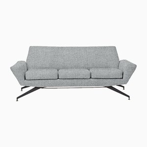 Customizable Vintage Italian Sofa from Lenzi