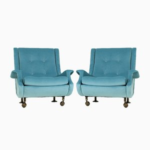 Regent Armchairs by Marco Zanuso for Arflex, 1960s, Set of 2