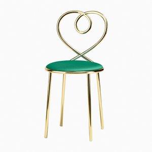 Malachite Love Chair by N. Zupanc for Ghidini 1961