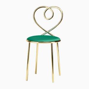 Love Stuhl aus Malachit von N. Zupanc für Ghidini 1961