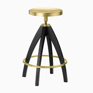 Leporello Junior Bar Stool by P. Rizzatto for Ghidini 1961