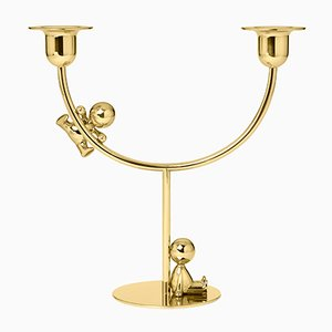 Omini The Lazy Climber Candleholder by S. Giovannoni for Ghidini 1961