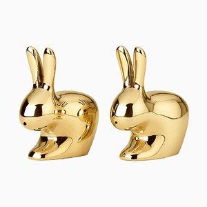 Set Salière et Poivrier Rabbit par S. Giovannoni pour Ghidini 1961