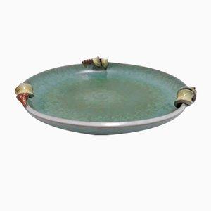 Ceramic Bowl by Martha Katzer for Karlsruher Majolika, 1930s