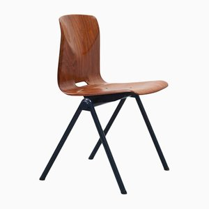 Vintage Oak, Blue S30 Chair from Galvanitas
