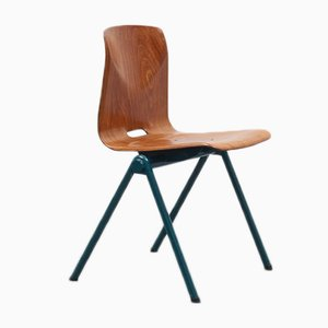 Vintage Green Oak S30 Chair from Galvanitas