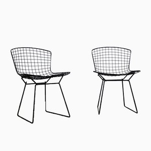 Chaises Harry Bertoia pour Knoll International, 1952, Set de 2