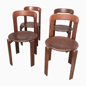Chaises de Salon par Bruno Rey, 1960s, Set de 4