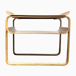 """Table """"Paimio"""" Modèle 75/915 par Alvar Aalto pour Finmar, 1940s"""