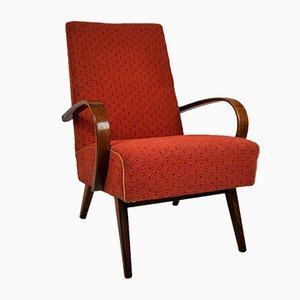Mid-Century Modern Armchair from TON, 1960s