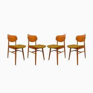 Chaises de Salle à Manger Vintage de TON, 1960, set de 4