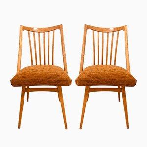 Esszimmerstühle von Antonin Suman für Jitona, 1960, 2er Set