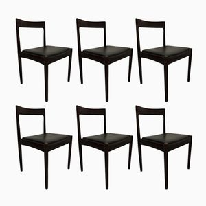 Astrid Dining Chairs by Oswald Vermaercke for V-Form, 1960s, Set of 6