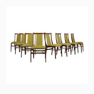 Chaises de Salon, Danemark, 1960s, Set de 8