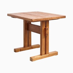 Mid-Century Tisch aus Pinienholz von Charlotte Perriand, 1960er