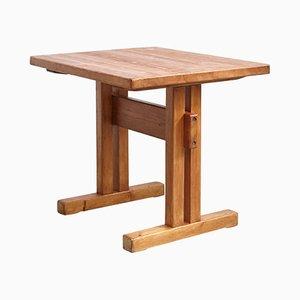 Tavolino Mid-Century in pino di Charlotte Perriand, anni '60