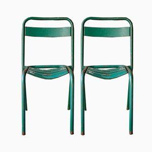 Vintage Stühle von Xavier Pauchard für Tolix, 1950er, 2er Set