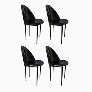 Chairs by Pascal Mourgue for Artelano, 1987, Set of 4