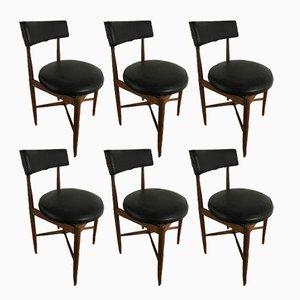 Esszimmerstühle aus Teak von Ib Kofod Larsen für G-Plan, 1960er, 6er Set