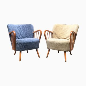 Vintage Danish Lounge Chairs, 1960s
