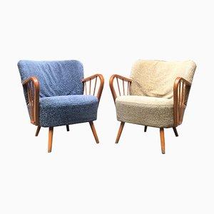 Vintage Danish Lounge Chairs, 1960s