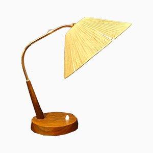Lámpara de mesa suiza vintage de Temde, años 60
