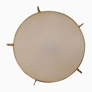 Vintage Flat Ceiling Lamp from Erco