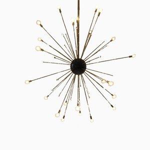 Lámpara de araña Sputnik vintage de Stilnovo, años 70