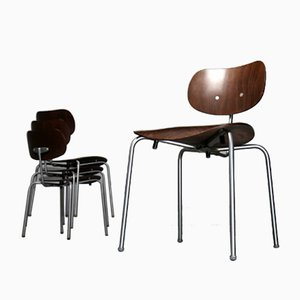 SE68 SU Chairs by Egon Eiermann for Wilde+Spieth, 1960s, Set of 4