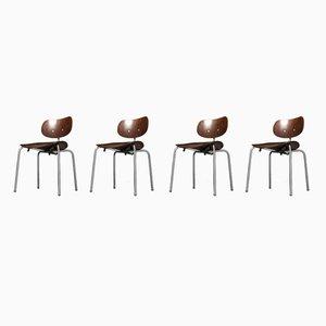 Chaises SE68 SU par Egon Eiermann pour Wilde+Spieth, 1960s, Set de 4