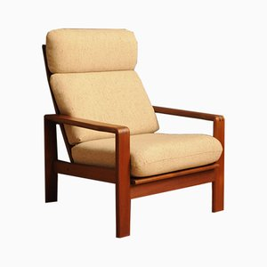 Vintage Danish Teak Lounge Chair, 1960s