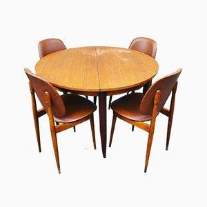 Set da pranzo Pegasus di Pierre Guariche per Baumann, anni '60