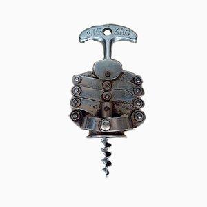 Vintage Zig Zag Korkenzieher von Jules Bart