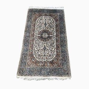 Handgeknüpfter indischer Vintage Pandschab Teppich