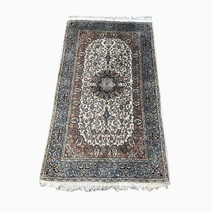 Vintage Indian Punjab Hand Knotted Rug