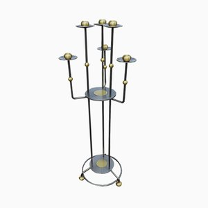 Mid-Century Brass Candelabrum from Belgo Chrom