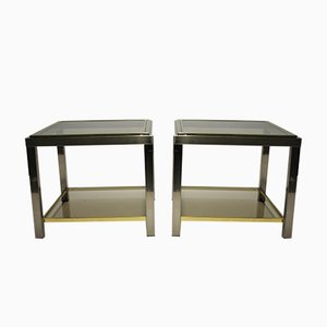 Tables d'Appoint par Jean Charles, 1970s, Set de 2