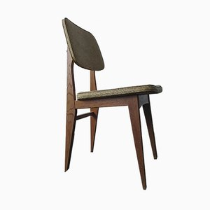 Chaise en Skaï par Marcel Gascoin, 1952