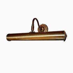 Lámpara de pared regulable vintage de latón