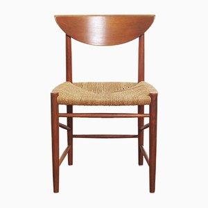 Beistellstuhl von Peter Hvidt & Orla Mølgaard Nielsen für Soborg Mobler, 1960er