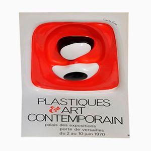 Affiche Vintage ABS par François Cante Pacos, 1970s