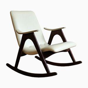 Chaise Rocking Vintage par Louis van Teeffelen pour WéBé